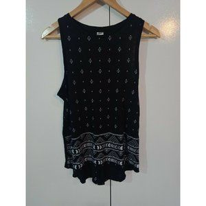 Now - Black and White - Tank Top - Size 12